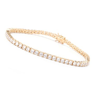 125-448 - Brilliante® Round Cut Prong Set Tennis Bracelet