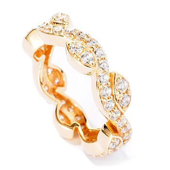 125-564 - Sonia Bitton for Brilliante® 1.28 DEW Round Cut Vine Ring