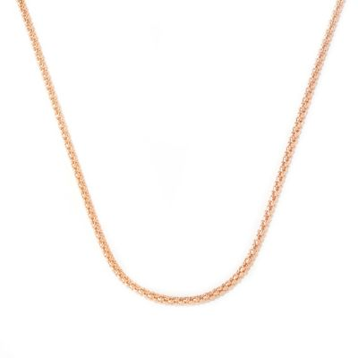 "125-792 - Toscana Italiana Gold Embraced™ 36"" High Polished Hammered Coreana Chain Necklace"