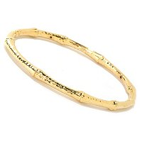 IDS 14K ORO VITA ELECTROFORM BAMBOO BANGLE