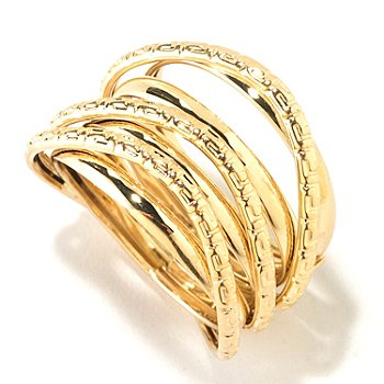 125-810 - Italian Designs with Stefano 14K Gold Riva Oro Ring