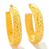IDS ORO PURO ARGILLA EARRINGS W/14K POSTS