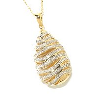 14K CHOICE DIAMOND PENDANAT