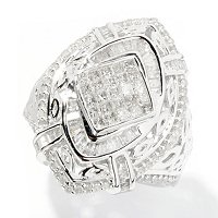 SS MARQUISE SHAPED DIAMOND RING