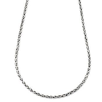 126-262 - Sterling Artistry by EFFY 18'' Wheat Chain Necklace