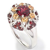 SS COLOR OF GARNET RING