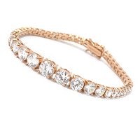 BLTA SS/CHOICE ROUND CUT GRADUATED TENNIS BRACELET