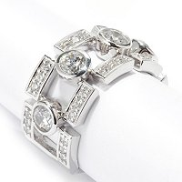 SB SS/CHOICE ROUND CUT BEZEL SET DREAM FITLINK RING