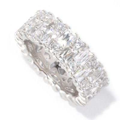126-709 - TYCOON for Brilliante® 5.78 DEW Prong Set Eternity Band Ring