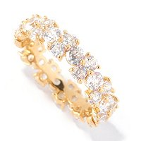 BLTA SS/CHOICE ROUND CUT ETERNITY BAND RING