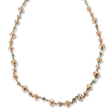 126-880 - Sweet Romance™ Gold-tone 51'' Baroque Inspired Necklace