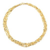 IJD 14K 4-STRAND BELLA SINGAPORE NECKLACE