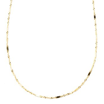 126-909 - Italian Designs with Stefano 14K Gold ''Specchi di Luce'' Necklace