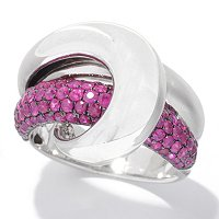 BALISSIMA BY EFFY SS RUBY RING