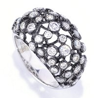 EFFY 14K WG DIAMOND RING