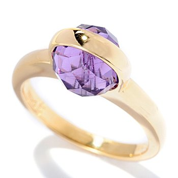 127-049 - Omar Torres Bezel Set Gemstone Band Ring