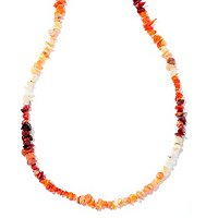 "GI 18"" FIRE OPAL NECKLACE"