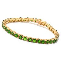 SS/P BRAC CHROME DIOPSIDE ALTERNATING TENNIS