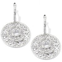 SS .5 CTW WHITE DIAMOND EARRINGS