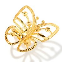 SS/21KGP RING TEXTURED BUTTERFLY