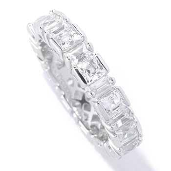 127-257 - TYCOON for Brilliante® Platinum Embraced™ 3.14 DEW Polished Eternity Band Ring