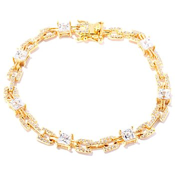 127-264 - TYCOON for Brilliante® Square & Round Cut Link Bracelet