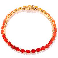 SS/P BRAC SHADES OF FIRE OPAL TENNIS