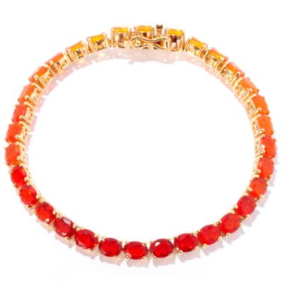 127-373 - NYC II Shades of Fire Opal Tennis Bracelet