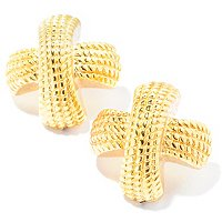 14K ORO VITA ELECTROFORM BACI EARRINGS