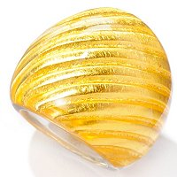 ORO PURO SATIN RING