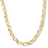 "14K 18""+2"" EXT SILK STORY NECKLACE"