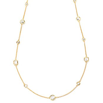 "127-424 - Sonia Bitton for Brilliante® 36"" 15.06 DEW Multi-Shape Necklace"