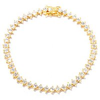 BLTA SS/CHOICE ROUND CUT TWO PRONG TENNIS BRACELET