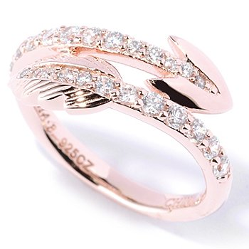 127-726 - Sonia Bitton for Brilliante® Polished Round Cut Arrow Ring