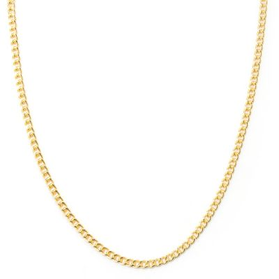 "127-827 - Milano Luxe Gold Embraced™ 38"" Curb Link Necklace"