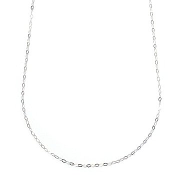128-001 - Italian Designs with Stefano Platinum Contempo Necklace