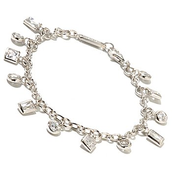 128-159 - TYCOON for Brilliante® Platinum Embraced™ Multi-Cut Dangle Bracelet