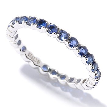128-425 - Brilliante® Platinum Embraced™ Polished Round Cut Eternity Band Ring