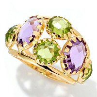 18K MULTI GEM RING