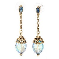 SKY MYSTIC CRYSTAL DROP EARRINGS