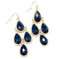 PEAR DROP CAMILLA EARRINGS