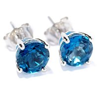 SS CHOICE 6MM EXOTIC STUD EARRING