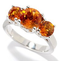 SS CHOICE 3 STONE EXOTIC RING