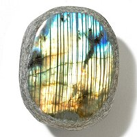 OVAL LABRADORITE LOOSE GEMSTONE