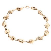 "14K 18"" RICAMI CUORI NECKLACE"