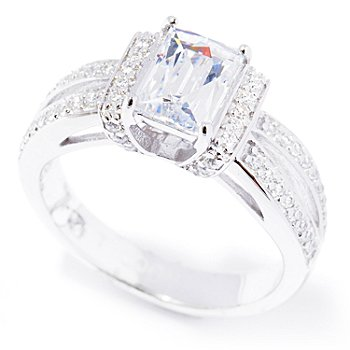 129-206 - TYCOON for Brilliante® Platinum Embraced™ 1.48 DEW Rectangle & Round Ring