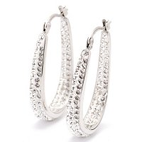 J HOOP EARRINGS