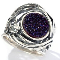 SS DRUSY CENTER RING