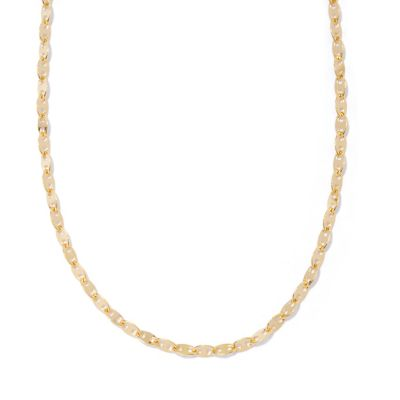 "129-538 - Portofino Gold Embraced™ 60"" Polished Mariner Link Chain Necklace"