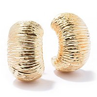 ARTFORMED ORO VITA HUGGER EARRINGS
